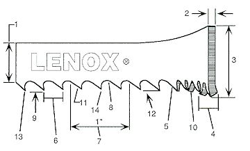 128 inch Band saw Blades to fit Enco 199-9090 18, Jet JBS-18 18