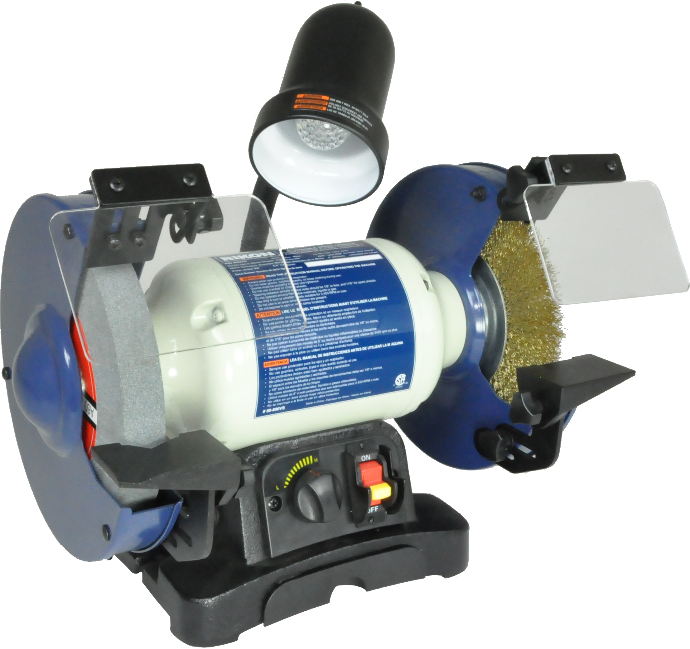 80 800vs 8 Inch Variable Speed Bench Grinder