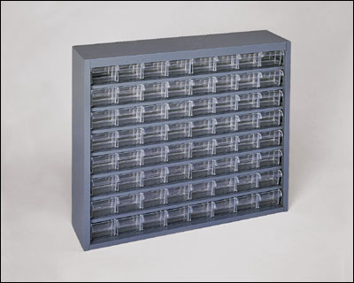 Model_317-95 Plastic Drawer Storage Bins, Plastic 64 Drawer ...