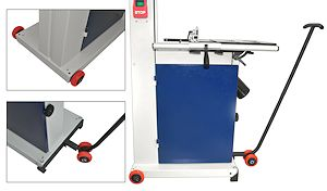 "Mobility Kit for 14"" Deluxe Bandsaw 10-325"