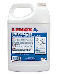 LENOX MACHINE CLEANER FLUID 1 case, 4-1gal.