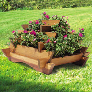 Tiered Flower Planter