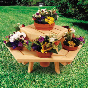Hexagon Table Planter