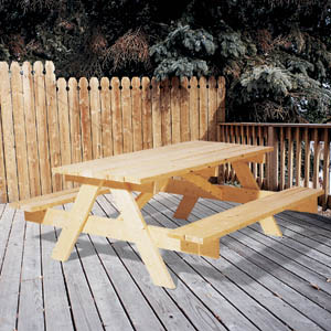 Perfect Picnic Table 6'