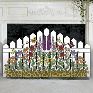 Garden Glory Picket Fence