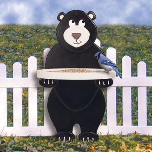 Feeder Plans Sc1848 Bear Bird Feeder Woodworking Plans