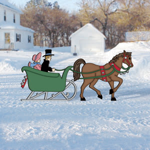 Christmas Plans Sc1926 One Horse Open Sleigh Woodworking Plans And