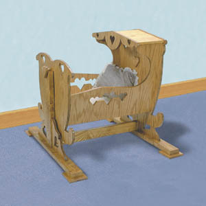 Indoor Plans Sc293 Baby Cradle Woodworking Plans And Projects
