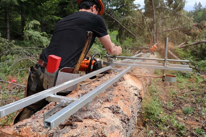 G1010 Sawmill Accessories Granberg G1010 10 Ez Rails