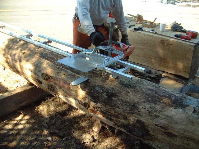 g777 alaskan small log mill  granberg g777 alaskan small
