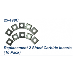 Carbide 2 - Edge Inserts for 25-130H, pack of 10 pcs.