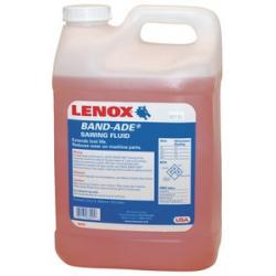 LENOX BAND-ADE  BAND SAW FLUID 1 case, 2 2-1/2 gal.