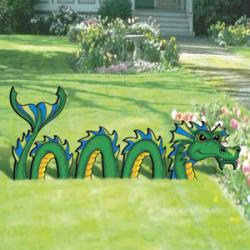 Lawn Sea Monster