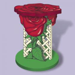 Rose Plant Stand