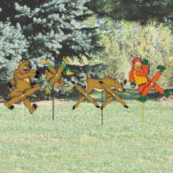 Harried Hunter Whirligigs