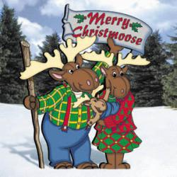 Merry Christmoose Family