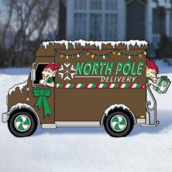 North Pole Delivery - Truck