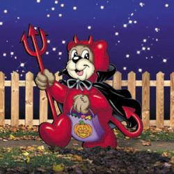 Trick-Or-Treat Devil Bear
