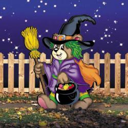 Trick-Or-Treat Witch Bear