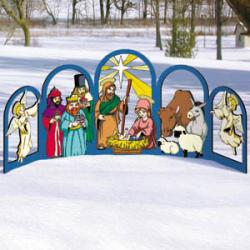 Arched Nativity - Set