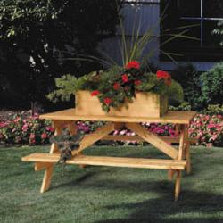 Picnic Table Planter