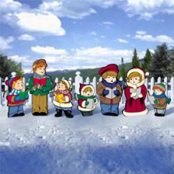 Cute Carolers Set