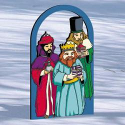 Arched Nativity - Wise Men