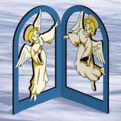 Arched Nativity - Angels