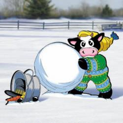 Wholly Cow! - Snowman Fun