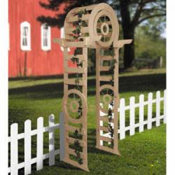 Wagon Wheel Arbor