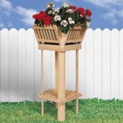 Picket Plant Stand