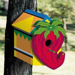 Chili Pepper Birdhouse