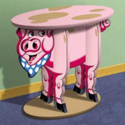Perky Piggy Table