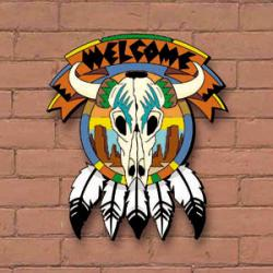 Desert Welcome Plaque
