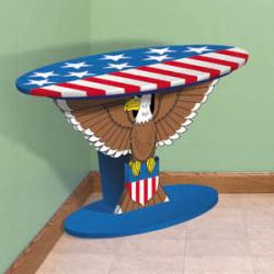 Oval Eagle Table