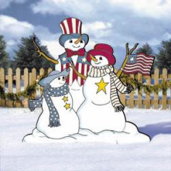 Patriotic Snow - Family