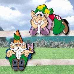 Gnome Fence Sitters II