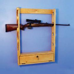 Locking Gun Rack