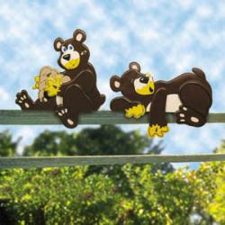 Bear-Y Happy Fence Sitters