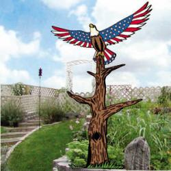 Star-Spangled Eagle Totem