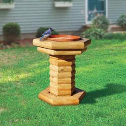 Landscape Timber Bird Feeder