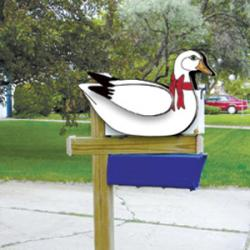 Layered Goose Mailbox Topper