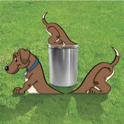 Dog Digger & Trash Can Topper