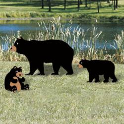 Painted Bear & Cubs