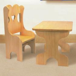 Wee One's Table & Chair Set