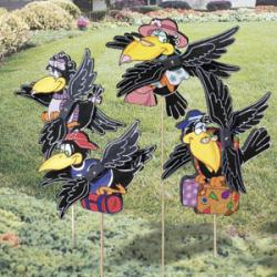 Old Crow Whirligigs
