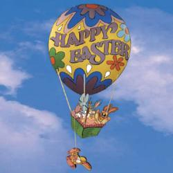 Easter Egg Hot Air Ballon