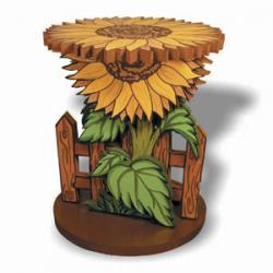 Sunflower Plant Stand