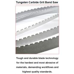 Carbide Grit Band Saw Blades - Welded to Length